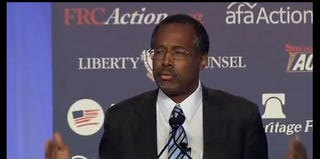 Ben S. Carson (CBS News screenshot)