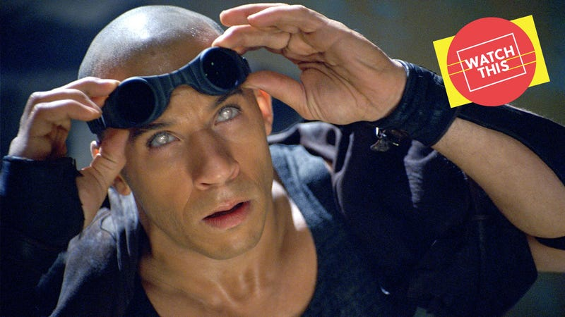 The Chronicles Of Riddick barely makes sense, and that doesn't