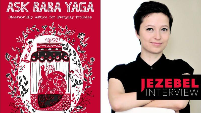 Book cover via Andrew McMeel Publishing/Author photo via Taisia Kitaiskaia.