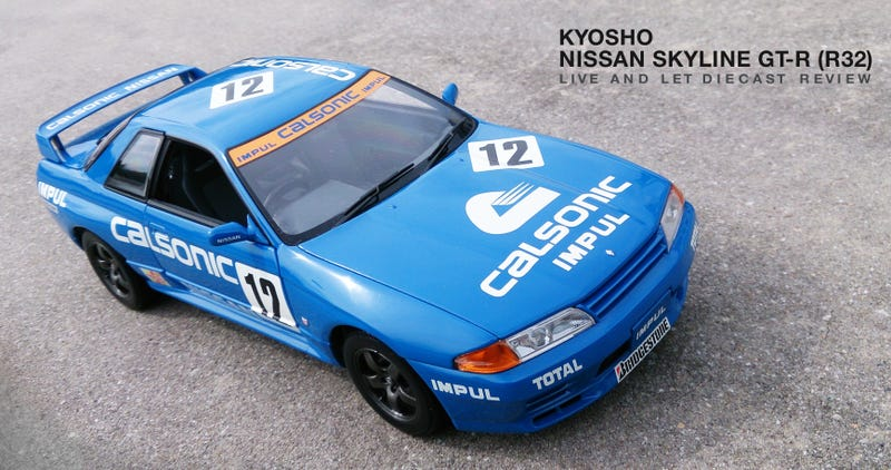 Illustration for article titled Kyosho Nissan Skyline GT-R (R32) - REVIEW