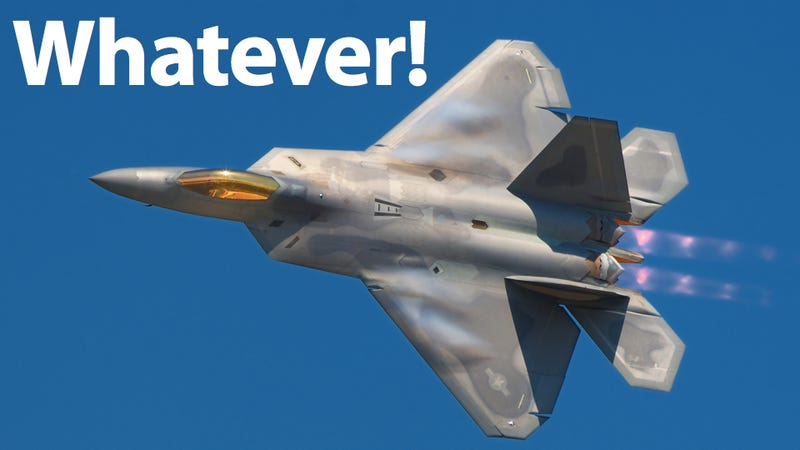 Illustration for article titled F-22 Pilots Don't Want to Fly the F-22