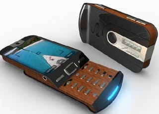 Illustration for article titled S-series Wooden Cellphone, Wish It Were Real