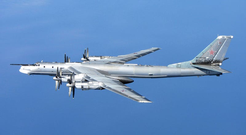 Illustration for article titled Bombarderos rusos no autorizados alteran el tráfico aéreo en Reino Unido