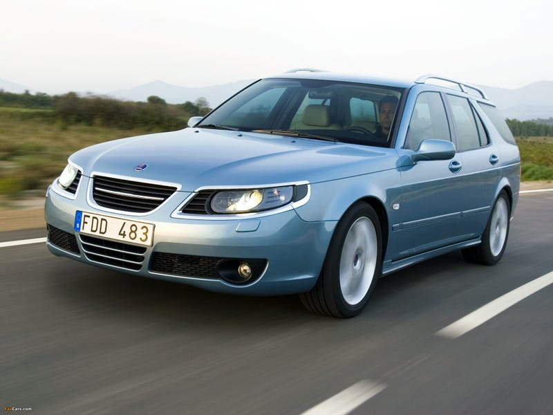 Illustration for article titled OK Oppo, school me on the Saab 9-5 Sportcombi