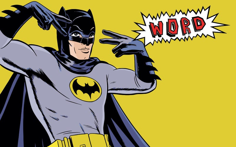 Illustration for article titled The '60s Batman TV show is finally coming to DVD (thanks to Conan?)