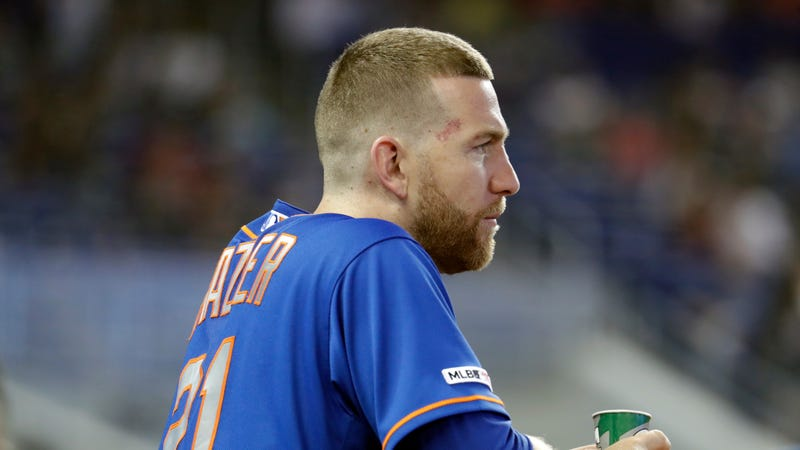 Illustration for article titled Todd Frazier Eats Pancakes Weird