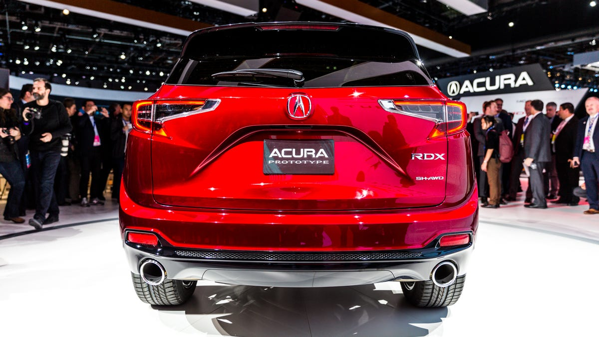 The 2019 Acura Rdx Is The Most American Japanese Car Yet