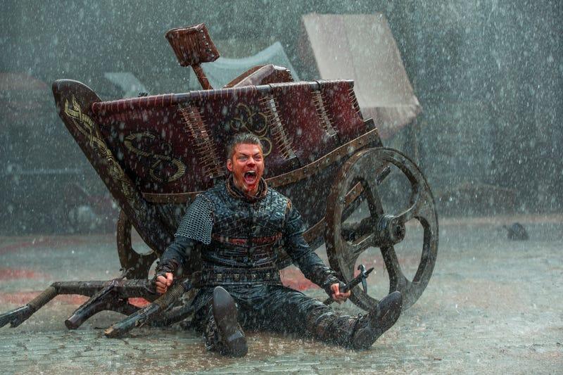 Alex Høgh as Ivar the Boneless (Photo: Jonathan Hession)