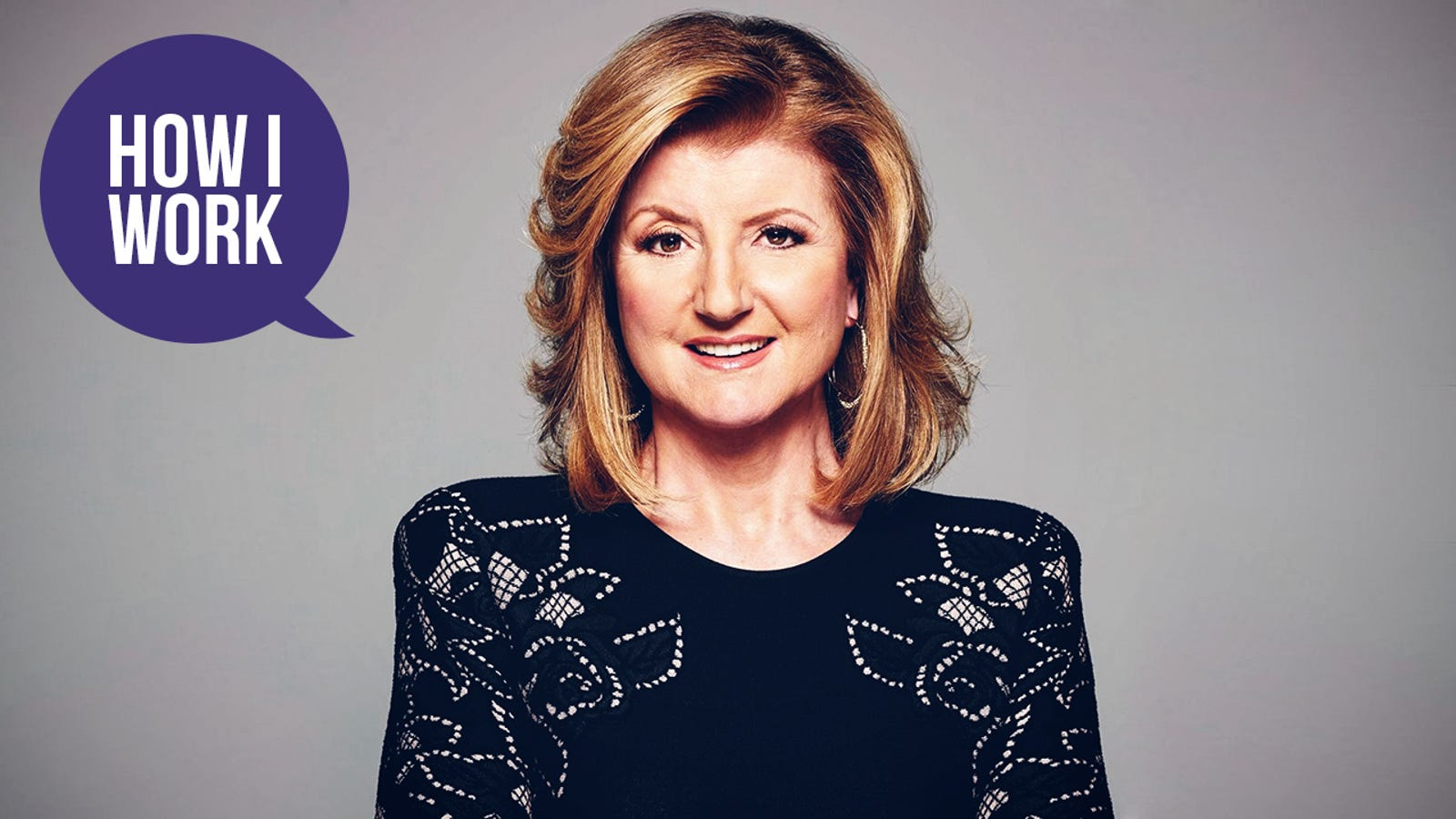 The more we hear about Arianna Huffington's worklife theory, the more we like it