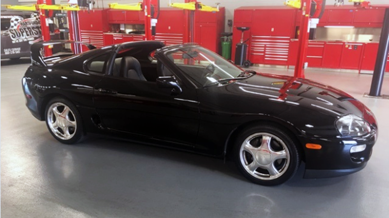 one of you nutjobs will actually pay 125 000 for this 1998 toyota supra. Black Bedroom Furniture Sets. Home Design Ideas