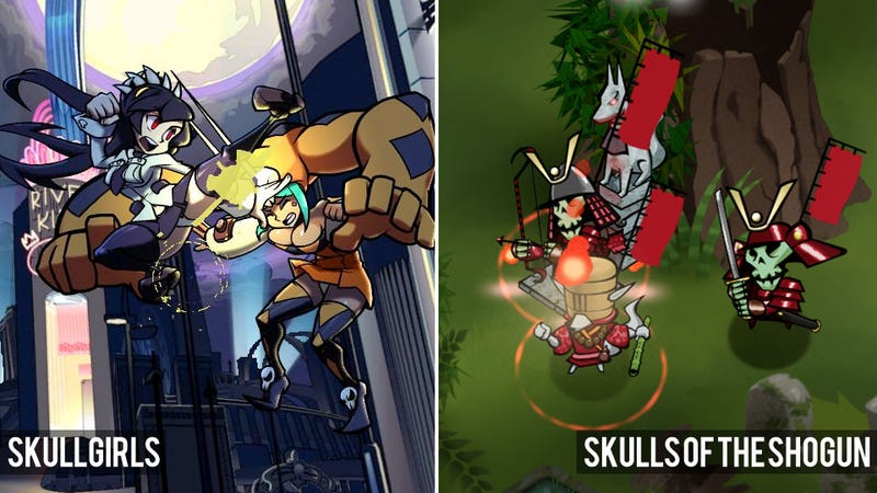 Illustration for article titled To-Do In Los Angeles: Play Skullgirls and Skulls of the Shogun at Giant Robot