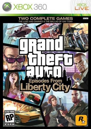 Illustration for article titled GTA: Episodes From Liberty City Box Looks Like This