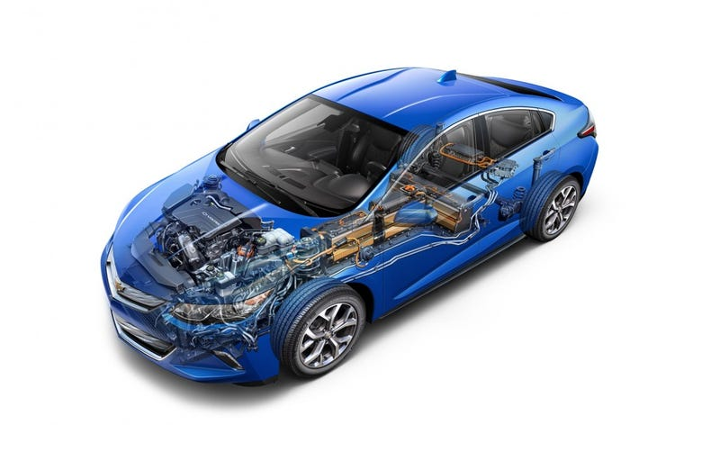 Illustration for article titled GM's next hybrid system is hiding in the 2016 Chevy Volt