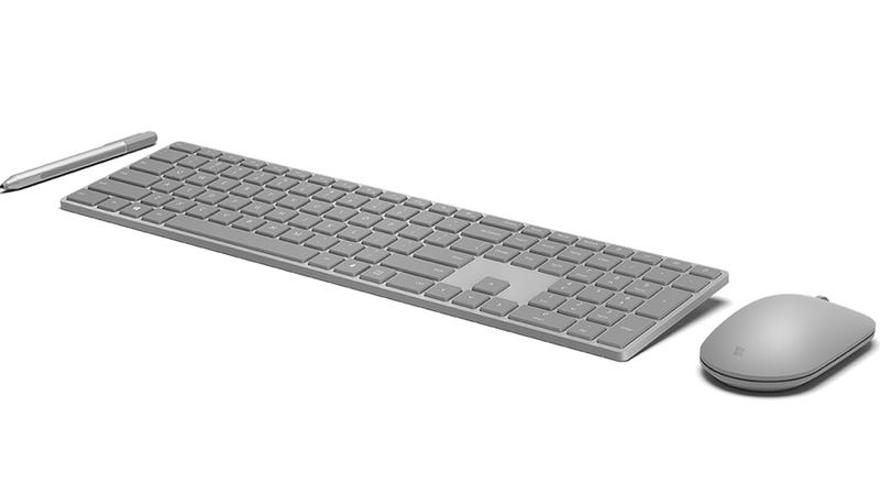 a659a9c52dd Microsoft's New Keyboard Includes Fingerprint Login—and Bad Ergonomics