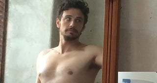 Illustration for article titled James Franco Posts and Deletes Another Scandalous Selfie