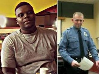 Michael Brown; Darren WilsonTwitter
