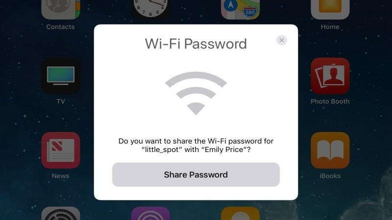 how to get password from another wifi