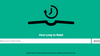 Illustration for article titled Find Out How Long It Will Take You To Read Almost Any Book