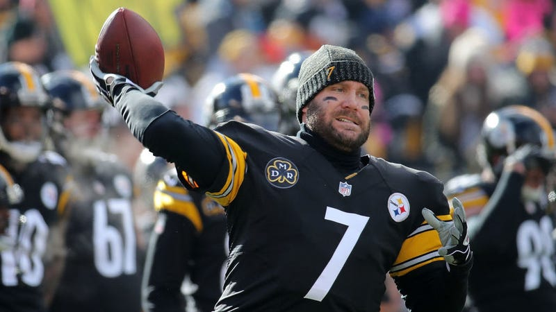Illustration for article titled Ben Roethlisberger Is Totally Committed To Playing Now That The Steelers Drafted A QB