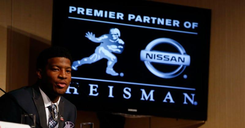 Illustration for article titled Jameis Winston, Florida State Quarterback Accused of Rape, Wins Heisman