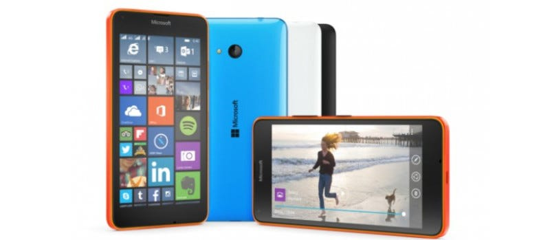 Illustration for article titled Lumia 640 and 640 XL: More Budget Microsoft Smartphones