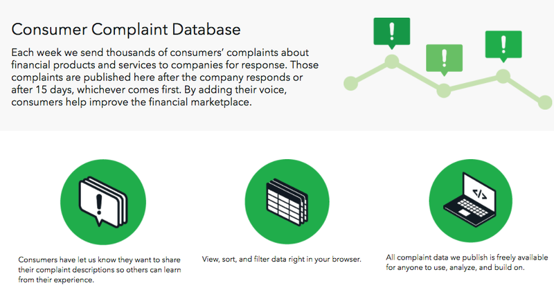 Illustration for article titled Research the CFPB's Massive Database of Customer Complaints While You Still Can