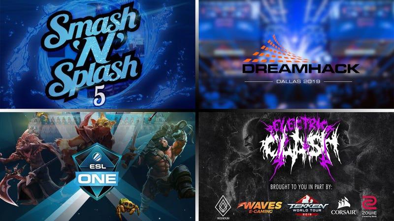 Illustration for article titled The Weekend eSports - Dream Smash Hack'N'Splash