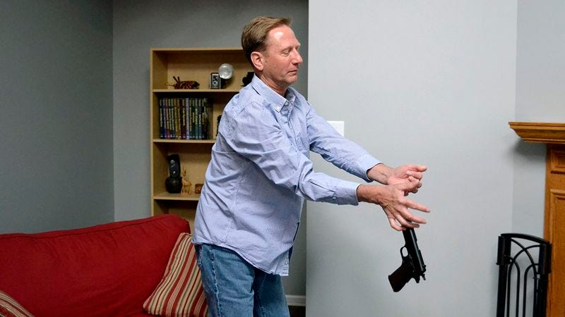 Illustration for article titled The Future Of Gun Safety? This Company Developed A Gun That Is Too Slippery To Hold