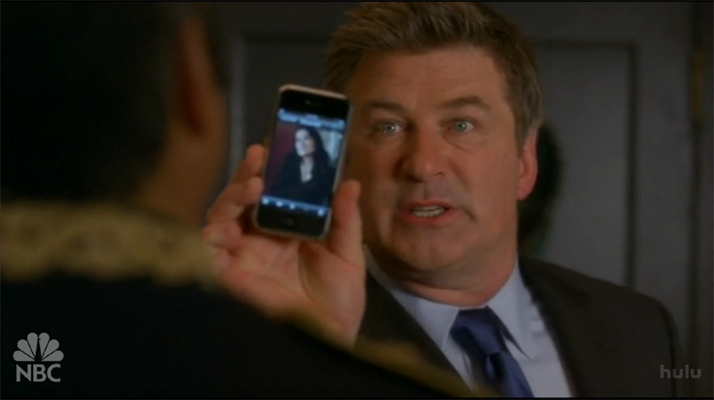 Illustration for article titled So What's Up With the iPhone Love on 30 Rock?