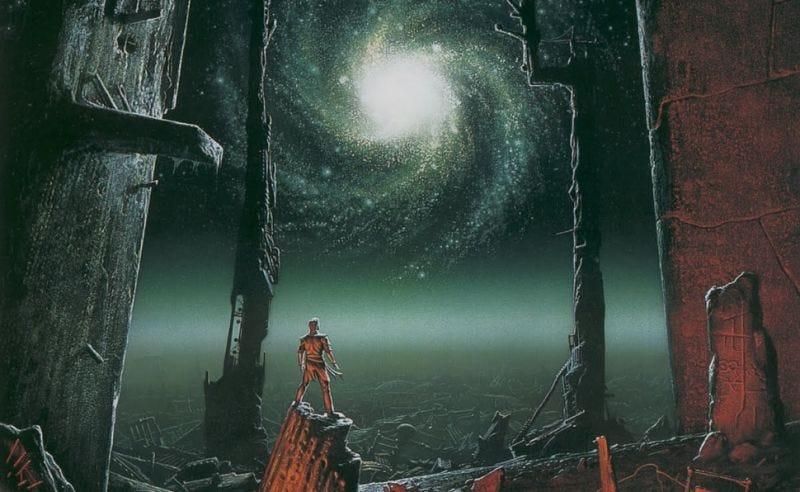 """""""Trantorian Dream"""" by Michael Whelan"""