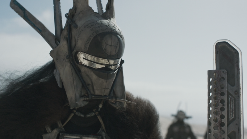 Salúdale a Enfys Nest (supuestamente), un villano en Solo: A Star Wars Story. Imagen: Lucasfilm