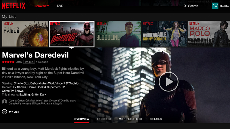 Illustration for article titled Netflix Is Getting Its First Big Web Interface Update in Four Years