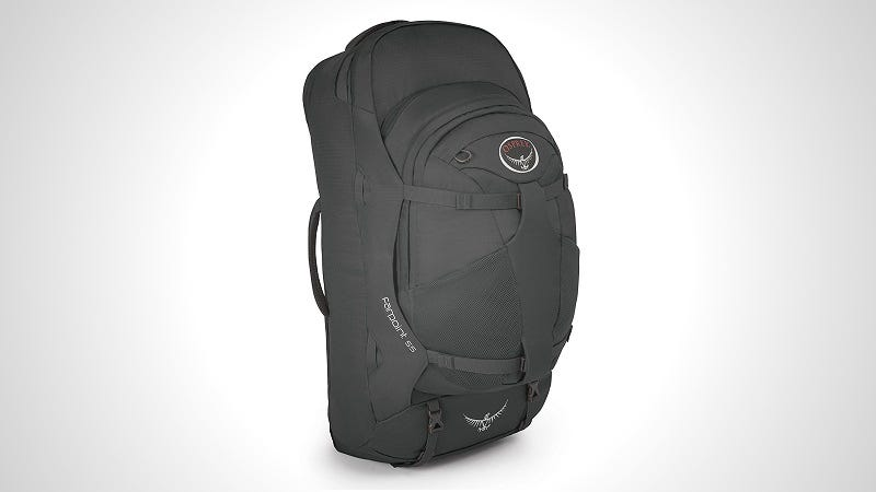 Illustration for article titled The Osprey Farpoint 55 Is the Perfect Backpack for Lightweight Travel