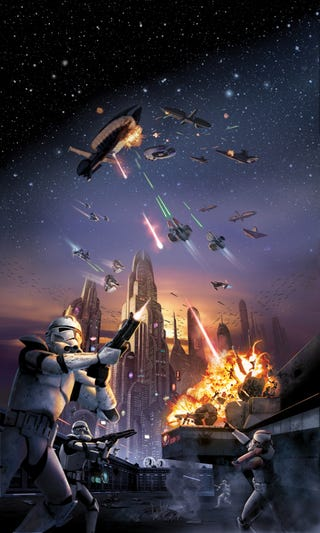 Illustration for article titled Star Wars Battlefront: Elite Squadron Preview: To Fire The Ion Cannon