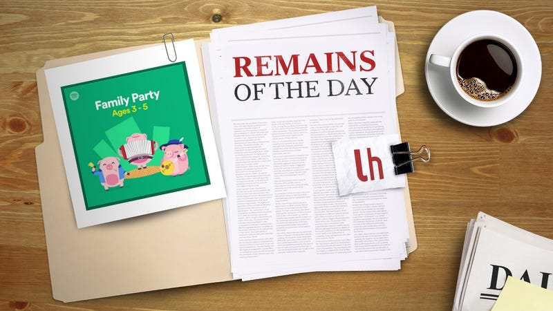 Illustration for article titled Remains of the Day: Spotify's New Kids Category Encourages Learning and Activities