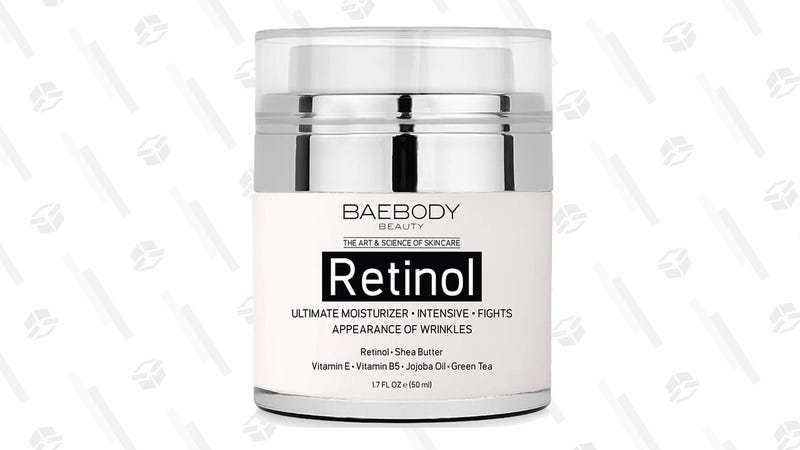 Baebody Retinol Moisturizer | $18 | Amazon | With Subscribe & Save and $1 coupon