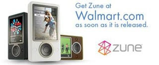 Illustration for article titled Buy a Zune at Walmart...Soon