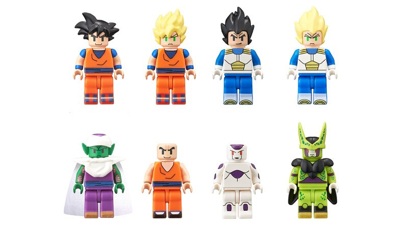 Illustration for article titled Bandai Desperately Wants You to Think These Dragonball Z Figures Are Lego