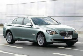 Illustration for article titled 2009 BMW 7-Series Leaked?