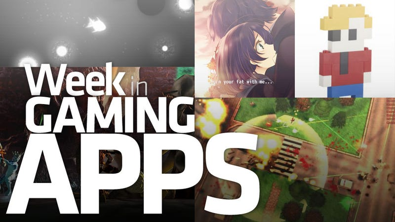 Illustration for article titled From Anime Weight Loss to Monochrome Fish: It's the Week in Gaming Apps
