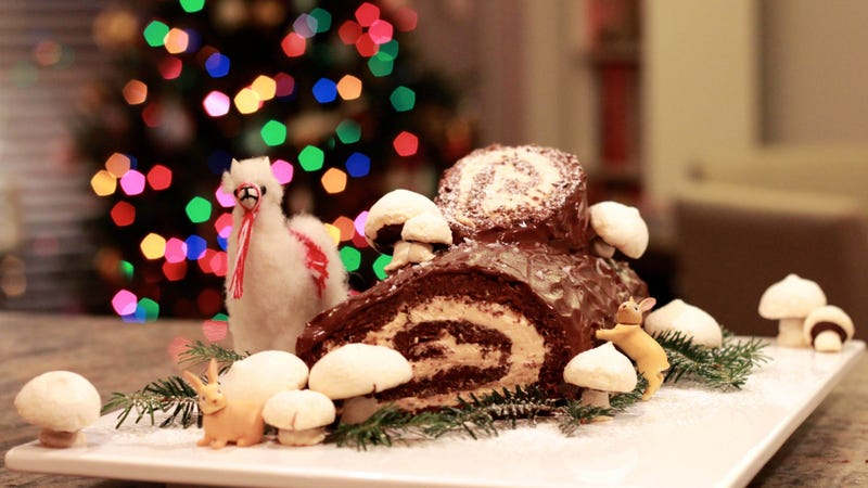 Christmas Yule Log Cake.Everything I Ve Learned As A Yule Log Obsessive