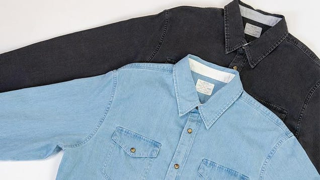 Stock Up On Denim and Chambray Button Downs From Jachs, Starting at $29
