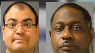 Sgt. John Figaroa and Sgt. Ricky Pickens-Wilson. These two now-fired detention officers at Texas' Harris County Jail are suspected of tampering with documents to hide the condition of an inmate's jail cell.YouTube screenshot