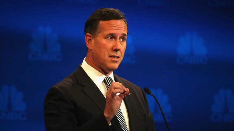 Illustration for article titled Farewell To Viral Internet Man Rick Santorum