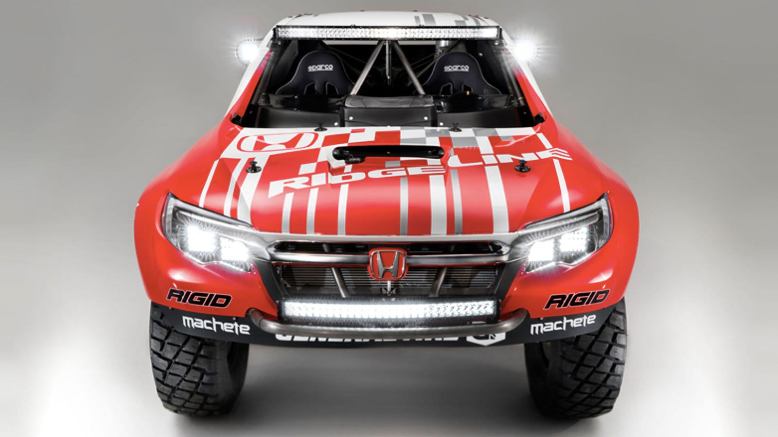 2017 Ridgeline Off Road >> 2017 Honda Ridgeline: This Is It, As A Full-On Off-Road Racing Machine