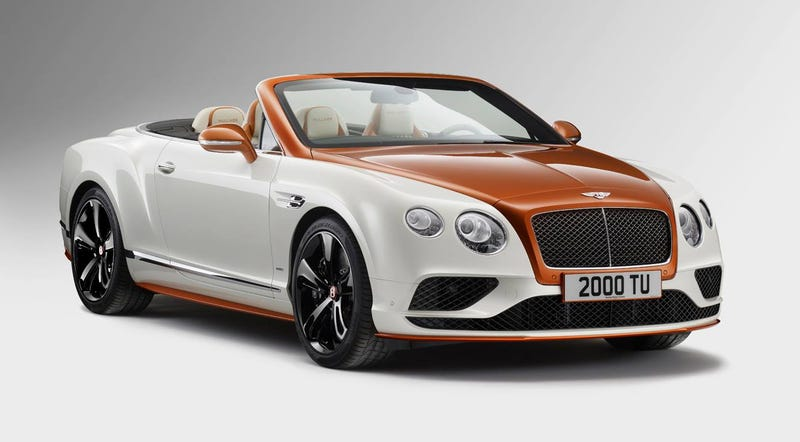 Illustration for article titled I'm Too Poor To Hate On This Bentley Creamsicle