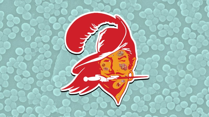 Illustration for article titled What Is MRSA? The Disgusting Infection Riddling The Buccaneers