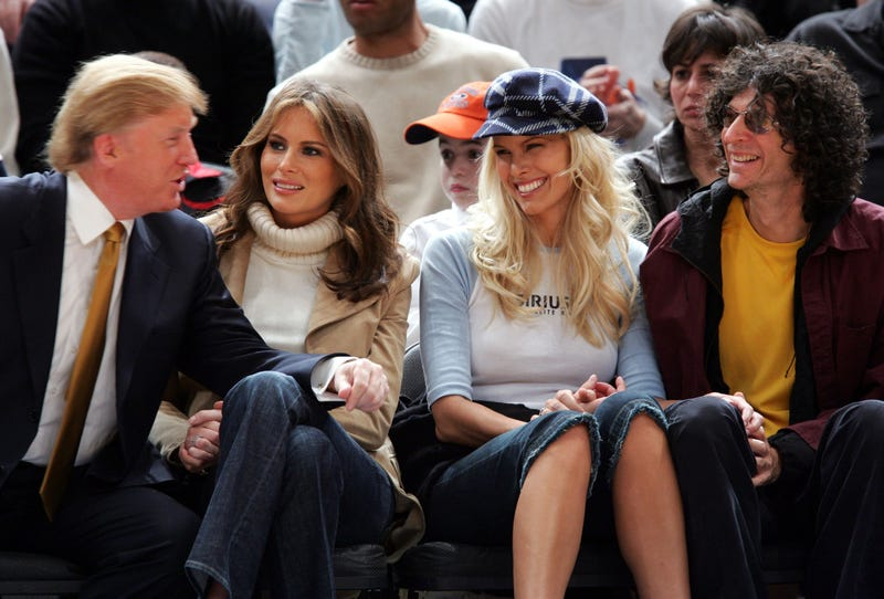 Donald Trump, Melania Trump, Beth Ostrosky and Howard Stern in 2005James Devaney/WireImage/Getty Images