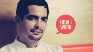 Illustration for article titled I'm Chef Aaron Sanchez, and This Is How I Work