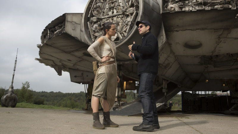 Jj abrams explains why hes returning for star wars episode ix image disney fandeluxe Image collections